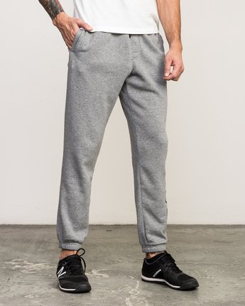 5 VA Guard Fleece Sweatpant Grey V301QRGU RVCA