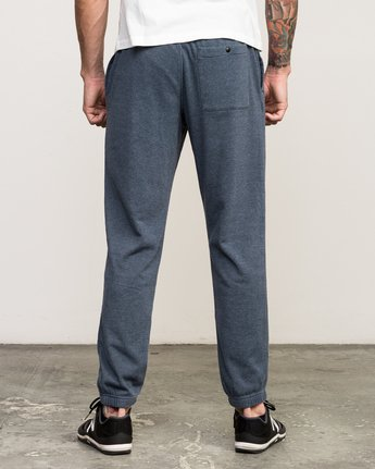 3 VA Guard Fleece Sweatpant Blue V301QRGU RVCA