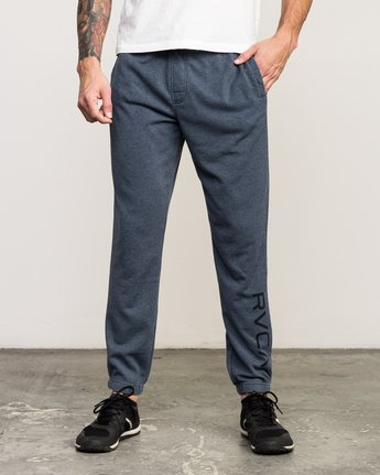 0 VA Guard Fleece Sweatpant Blue V301QRGU RVCA