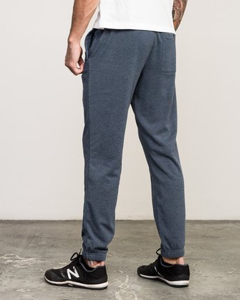 2 VA Guard Fleece Sweatpant Blue V301QRGU RVCA