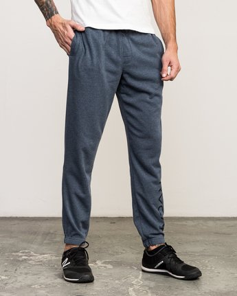 5 VA Guard Fleece Sweatpant Blue V301QRGU RVCA