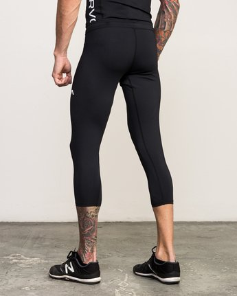 2 VA 3/4 Performance Tight Black V302QRCL RVCA