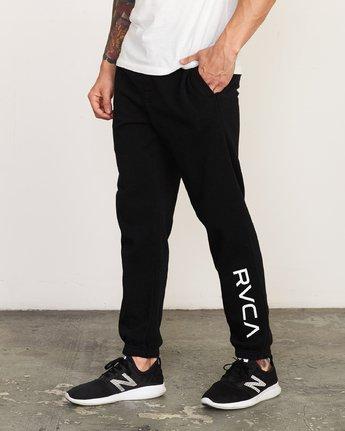 0 Cage Sweatpant Black V302TRCS RVCA