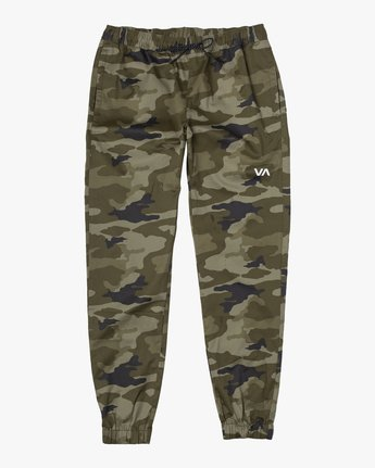 6 SPECTRUM CUFFED WORKOUT PANTS Grey V3031RSC RVCA