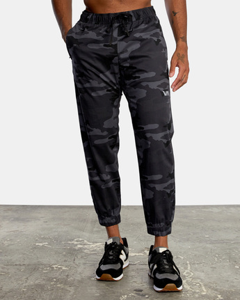 1 SPECTRUM CUFFED WORKOUT PANTS Brown V3031RSC RVCA