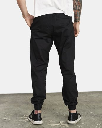 2 SPECTRUM CUFFED WORKOUT PANTS Black V3031RSC RVCA
