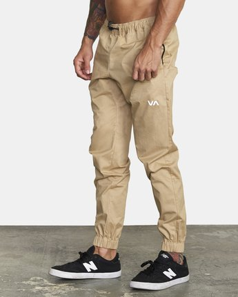 1 SPECTRUM CUFFED WOVEN PANT Brown V3031RSC RVCA