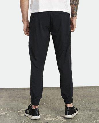 1 YOGGER TRACK PANT Black V3043RYP RVCA