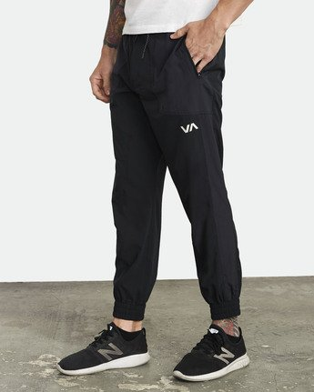 2 YOGGER TRACK PANT Black V3043RYP RVCA