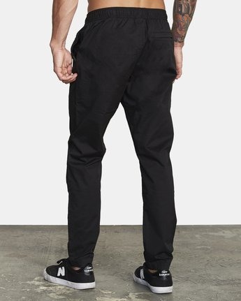 2 SPECTRUM III WOVEN PANT Black V3061RSP RVCA