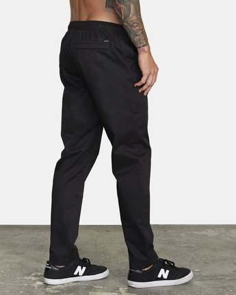 4 SPECTRUM III WOVEN PANT Black V3061RSP RVCA