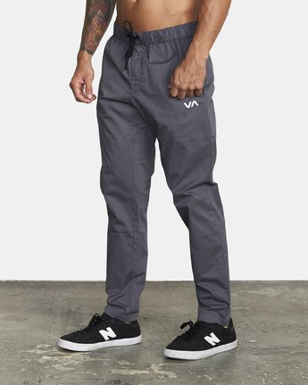 1 SPECTRUM III WOVEN PANT Grey V3061RSP RVCA