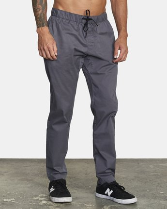 6 SPECTRUM III WOVEN PANT Grey V3061RSP RVCA