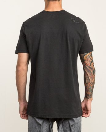 3 VA RVCA Sport T-Shirt Black V402SRVA RVCA