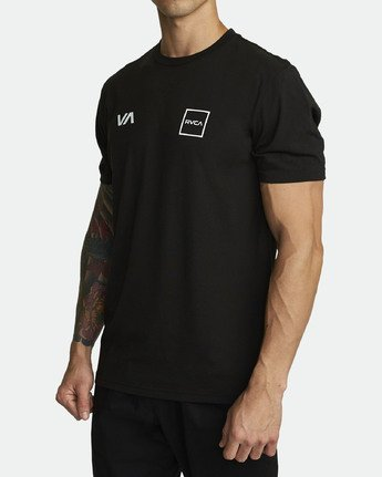 1 RVCA LANE T-SHIRT Black V4041RRL RVCA