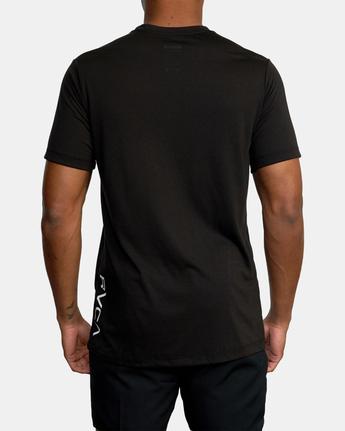 10 RVCA 2X SHORT SLEEVE TEE Black V4041RRX RVCA