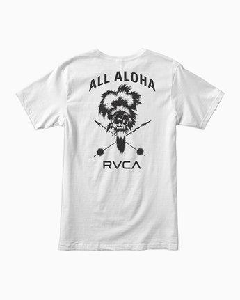 1 BJ Penn TKO Sport T-Shirt White V404SRTK RVCA
