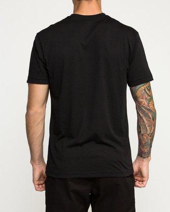 3 Defer Bar Performance T-Shirt Black V404TRDE RVCA