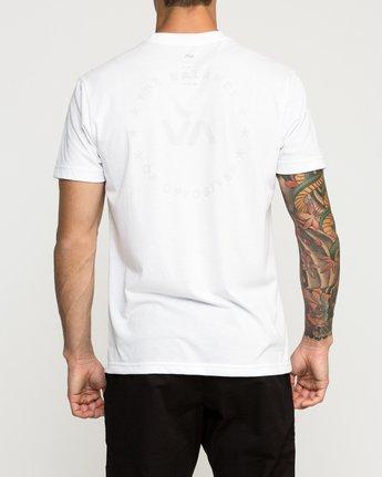 4 Stealth Seal Performance T-Shirt White V404TRST RVCA