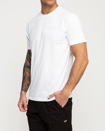 3 Stealth Seal Performance T-Shirt White V404TRST RVCA