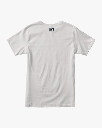 1 Defer All The Way Performance T-Shirt White V404URDE RVCA