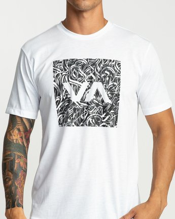5 Defer All The Way Performance T-Shirt White V404URDE RVCA