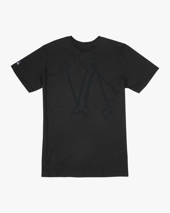 1 Defer Chest Performance T-Shirt Black V404UREF RVCA