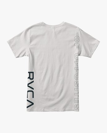 1 Pin Down Performance T-Shirt White V404URPD RVCA