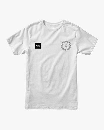 1 Pin Around Performance T-Shirt White V404URPI RVCA