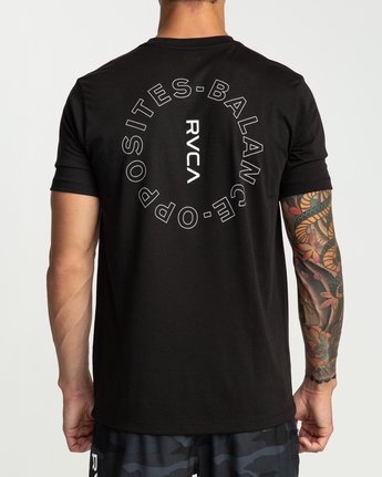 4 Pin Around Performance T-Shirt Black V404URPI RVCA