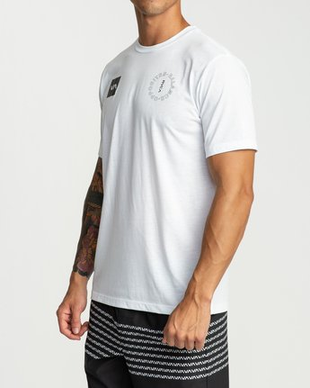 2 Pin Around Performance T-Shirt White V404URPI RVCA