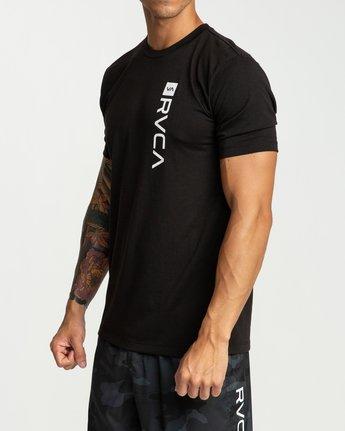 3 RVCA Revert Performance T-Shirt Black V404URRE RVCA