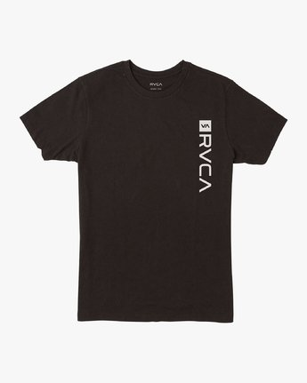 1 RVCA Box Drirelease T-Shirt Black V404VRBO RVCA
