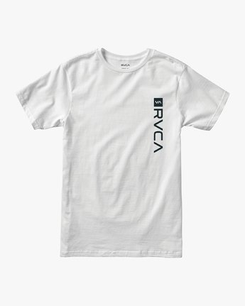 1 RVCA Box Drirelease T-Shirt White V404VRBO RVCA