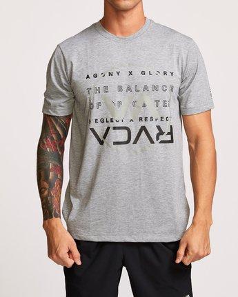 1 Brand Over Balance TEE Grey V404VRBR RVCA
