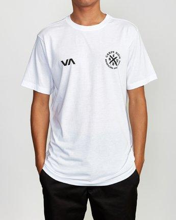 2 Carpe Diem Tokyo T-Shirt White V404VRCD RVCA