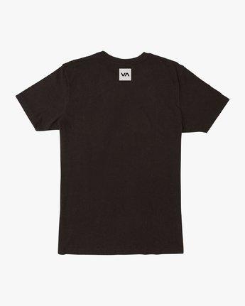 1 RVCA Club T-Shirt Black V404VRCL RVCA