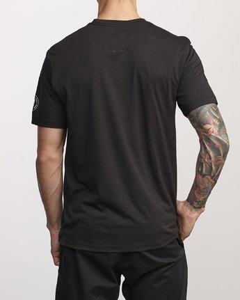 2 BJ Penn Arc Drirelease T-Shirt Black V404WRBA RVCA