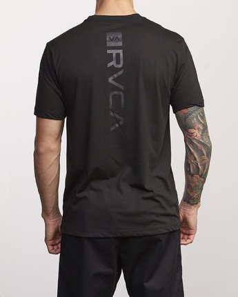 1 VA Mark Drirelease T-Shirt Black V404WRVM RVCA