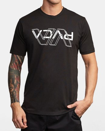 0 VA Out Drirelease T-Shirt Black V404WRVO RVCA