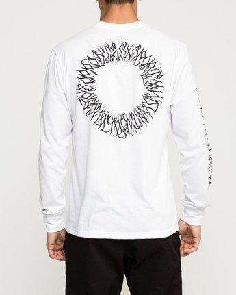 4 Defer Sphere Performance T-Shirt White V453TRDE RVCA