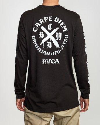 5 Carpe Diem Tokyo Long Sleeve T-Shirt Black V453VRCD RVCA