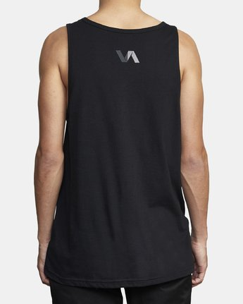2 VA TRACK TANK Black V4811RTE RVCA