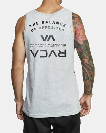 2 BALANCE ARC TANK TOP Red V4813RBA RVCA
