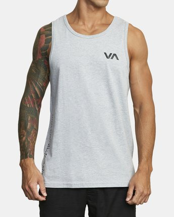 1 BALANCE ARC TANK TOP Red V4813RBA RVCA