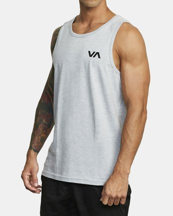 3 BALANCE ARC TANK TOP Red V4813RBA RVCA