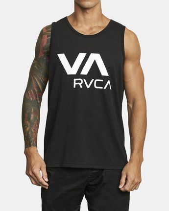 0 VA RVCA TANK TOP Black V4823RVR RVCA
