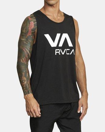 4 VA RVCA TANK TOP Black V4823RVR RVCA