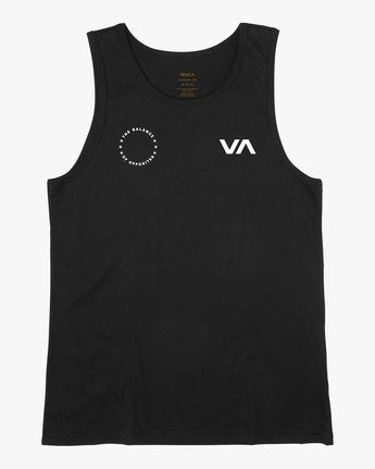 1 Stealth Seal Tank Top Black V483TRSS RVCA