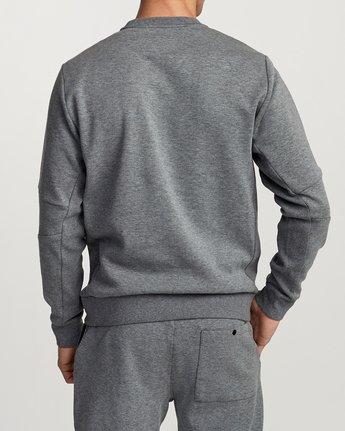 3 Sideline Sweatshirt Grey V603TRSC RVCA